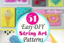 DIY Craft Ideas / Sharing DIY Craft Ideas with tutorials and step-by-step guide on how to make stuff. #DIYCrafts #DIYIdeas