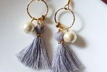 White Flos ꕥ Earrings / A good pair of earrings are like the perfect spice illuminates the skin and accentuates your style ☽