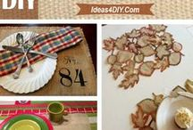 Burlap / Explore different burlap crafts, burlap wreath, patterns, table runners, tablemats and more tutorials with step-by-step tutorials.