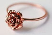 White Flos ~ ♥ ~ Rose Gold Jewelry