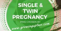 TWIN PREGNANCY / HELP AND ADVICE FOR TWIN MOTHERS AND THOSE EXPECTING BABIES AND MULTIPLES. PREGNANCY ADVICE. PINS CHOSEN BY GROWINGUPTWO.COM - A FAMILY TRAVEL BLOG BY A TWIN MUM