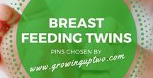 BOTTLE & BREASTFEEDING TWINS / TIPS AND ADVICE ON BOTTLE AND BREAST FEEDING TWINS
