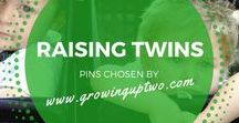RAISING TWINS / TIPS, SUGGESTIONS, IDEAS AND ADVICE ON HOW TO RAISE TWINS AND MULTIPLES. PINS CHOSEN BY GROWINGUPTWO.COM - A POPULAR FAMILY TRAVEL BLOG RUN BY A TWIN MUM