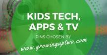 KIDS TV, TECH & IT / IDEAS ON GREAT APPS, TECHNOLOGY AND INTERACTIVE TOYS FOR KIDS. PINS CHOSEN BY GROWINUPTWO.COM - POPULAR FAMILY TRAVEL BLOG