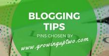 BLOGGING TIPS & ADVICE / BLOGGING TIPS AND SOCIAL MEDIA ADVICE. PINS CHOSEN BY GROWINGUPTWO.COM - POPULAR FAMILY TRAVEL BLOG