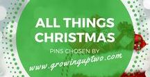 CHRISTMAS / A SELECTION OF PINS ALL TO DO WITH CHRISTMAS CHOSEN BY www.growinguptwo.com A POPULAR FAMILY TRAVEL BLOG