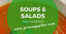 SOUPS & SALADS / A SELECTION OF GREAT SOUP AND SALAD RECIPES CHOSEN BY GROWINGUPTWO.COM - A FAMILY TRAVEL BLOG