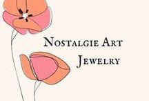 Etsy Nostalgie Art Jewelry / Macrame Jewelry Gallery