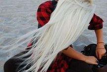 White Hairstyles