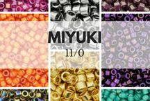 Perles MIYUKI 11/0 / Perles MIYUKI 11/0