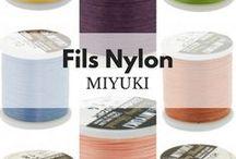 Fil Nylon Miyuki / Fils Nylon #Miyuki