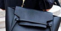Beautiful black bags / De très beaux sacs à main noirs / Beautiful black handbags