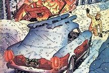 Illustraties Guy Lefranc / Stripboeken van Guy Lefranc!