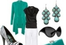 My Style / Looks I love - there's a lot of green, mint & teal on this board!