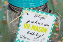 Homemade Gifts / This is a collection of gifts for everyone in your life. On this board you will find baby shower gifts, teacher appreciation gifts, birthday, holidays and much more.