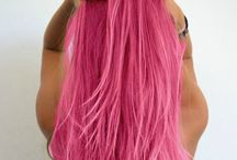 Hairstyles & Colours I Love / Beautiful hairstyles and colours Hair styles, hairstyles, hair colours, coloured hair, hair dye, pink, red, blonde, brunette, dark, hair, rainbow hair, multicoloured hair.