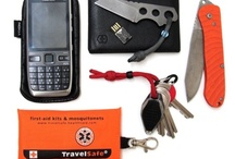 EDC Every Day Carry - Pocket Tools / Lots of useful little things you can fit in your pockets. Mostly TSA-safe stuff appropriate for travelling. And of course the more functions in one device the better. / by Charles Buchwald