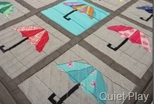 Paper pieced quilt blocks / by Vickey Hughes