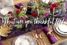 HOLIDAY: Thanksgiving and fall / A collection of holiday festive ideas and fun.
