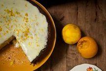 Eat - Citrus  / Citrus desserts are my favourite, so easy and elegant!