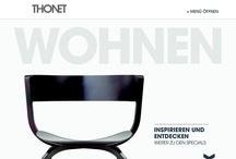 THONET / Unser neues Webportal für den Möbelhersteller THONET, die seit fast 200 Jahren Design und Produktion von Möbeln revolutionieren.