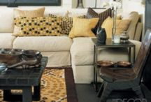 Living Room Decor / A collection of living room decorating ideas.