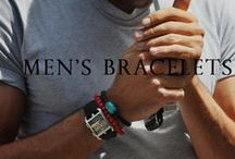 Eternal Bond Mens Bracelets / Men are usually considered to be minimalists when it comes to jewelry. The simple the jewelry is, better is the choice for men. Men wear jewelry that reflects their masculinity. Men's bracelets can be in Gold or silver. Whatever metal suits the tastes of the man wearing it is chosen to make the Men's Bracelets. These Men's Bracelets have limited choice of designs unlike women's jewelry.