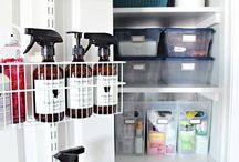 Keep It In The Closet / A collection of closet and storage organization ideas.