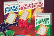Pop Tarts of the past / Previous pastries.
