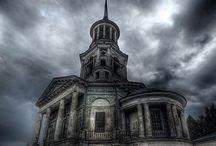 abandoned ⚓️ / Abandoned buildings, amusement parks, mental hospitals, towns / by Kristen Clark