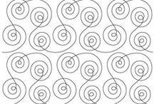 Spirals and Swirls Longarm Quilting Designs / Spirals and Swirls Longarm Quilting Designs / by Vickey Hughes