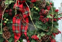 Christmas / decorating ideas and diy