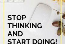 Organization/Productivity / planning activities, organization tips, productivity