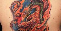 Phoenix Tattoos / Ink Master Season 3 Episode 3