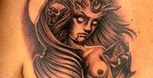 Black & Gray Demon Tattoos / Ink Master Season 4 Episode 8