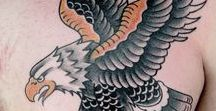 American Traditional Eagle Tattoos / Ink Master Season 6 Episode 2