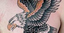 American Traditional Eagle Tattoos / Ink Master Season 6 Episode 2
