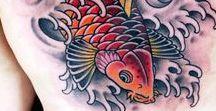 Koi Fish Tattoos / Ink Master Season 6 Episode 6
