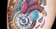 Anatomical Heart Morph Tattoos / Ink Master Season 6 Episode 10