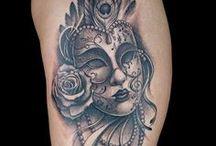 Venetian Mask Tattoos / Ink Master Season 7 Episode 4