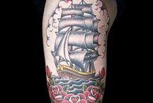 American Traditional Tattoos (Ink Master Season 7) / Ink Master Season 7 Episode 10