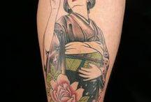 Japanese Geisha Tattoos (Ink Master Season 8) / Season 8 Episode 1