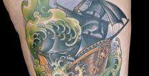 Natural Disaster Tattoos / Ink Master Season 9 Episode 3
