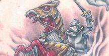 Horseman of the Apocalypse Tattoos / Ink Master Season 9 Episode 11