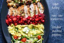 Thanksgiving / Recipes for thanksgiving dinner & leftovers!