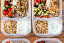 Work Lunch Ideas / Perfect ideas for what to pack for lunch- lots of meal prep options!