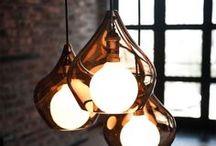 Lighting / Luminaires / Idées de luminaires et d'éclairages en tous genres. Lighting ideas for home