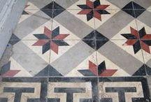 Carrelages & carreaux ciment / Floor & cement tiles / Carrelages & carreaux ciment / Floor & cement tiles.
