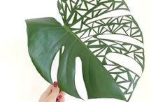 Tropical / Tropical mood, monstera, philodendron, ananas, aloha, flamant rose. www.mimousk.blogspot.fr