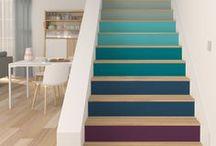 Escaliers / Stairs / Idées déco et jolis escaliers / Nice stairs